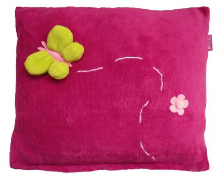 Dark Pink Meadowí párna - NAGY