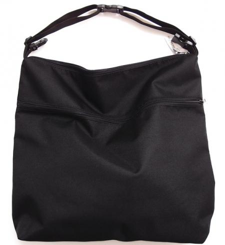 Black pelenkázó táska babakocsira