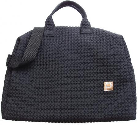 Small Black Comb XL táska babakocsira