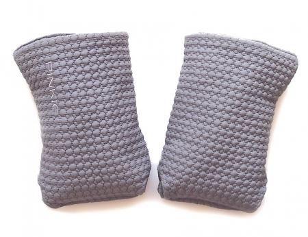 Small Grey Comb kesztyű babakocsira