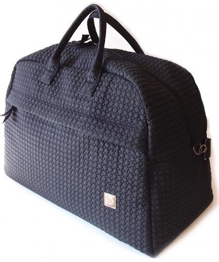 Small Black Comb utazó táska
