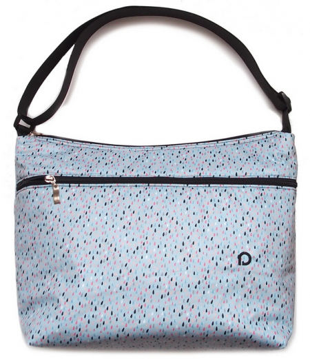 Drop Blue  táska babakocsira