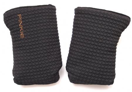 Small Black Comb kesztyű babakocsira