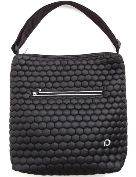 Big Comb Black pelenkázó táska babakocsira - NAGY