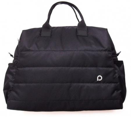 Plain Black M  táska babkocsira