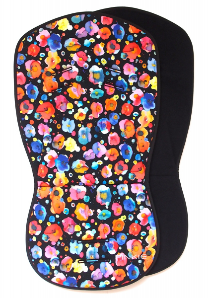 Pinkie Flowers Black betét