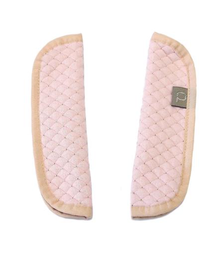 Babakocsi Diamond Light Pink biztonsági öv védő