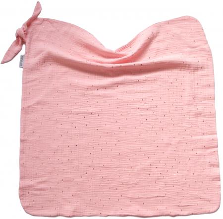 Nyári Pinkie Muslin Light Pink takaró