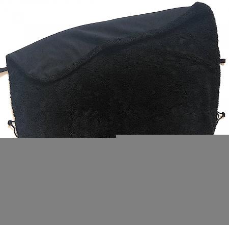 Összehúzható  Pinkie Soft Black takaró
