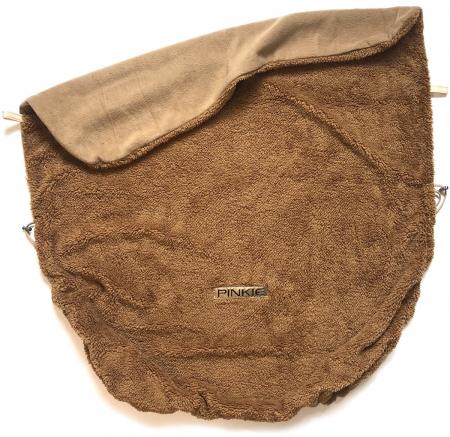 Összehúzható Pinkie Soft Brown takaró
