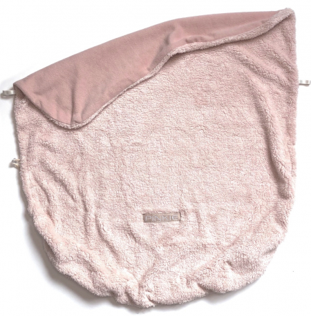 Összehúzható Pinkie Soft Pink takaró