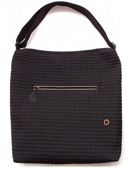 Small Black Comb pelenkázó táska babakocsira - NAGY