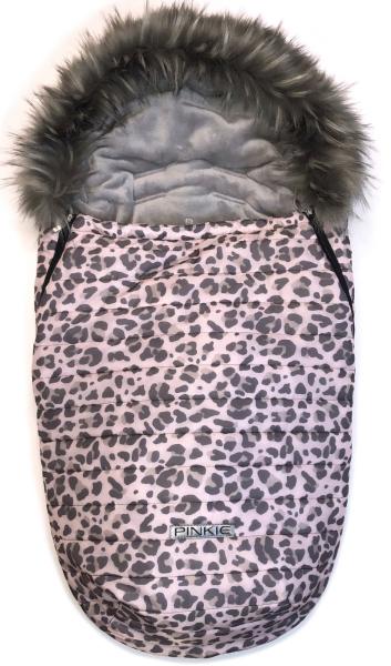Pinkie Animal Pink szőrmés bundazsák