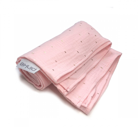 Nagy Pinkie Muslin Light Pink pelenka