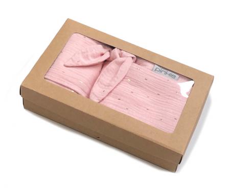 Muslin Light Pink ajándék szett