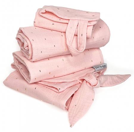Muslin Light Pink szett -  NAGY