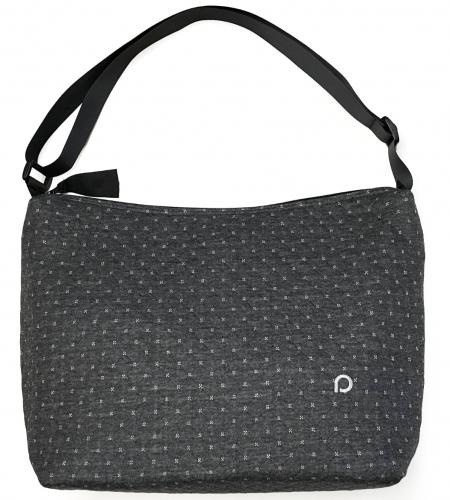 Diamond Dark Grey  táska babakocsira