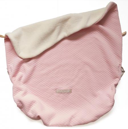 Összehúzható Diamond Light Pink II. takaró