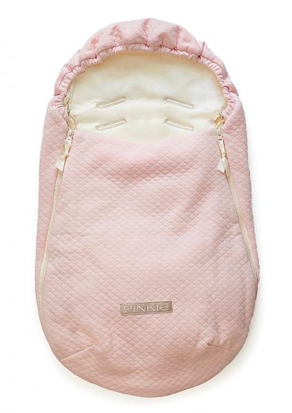 Diamond Light Pink II. bundazsák  0-12 hónap