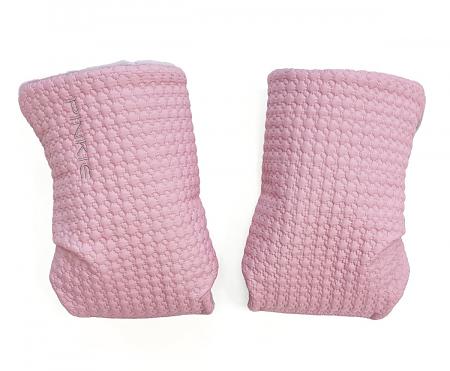 Small Pink Comb kesztyű babakocsira