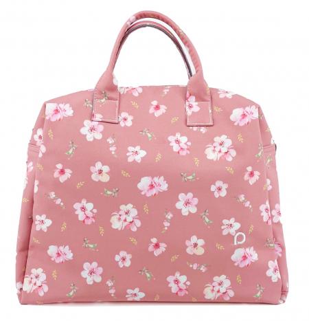 Softshell Pink Rose  M táska babakocsira