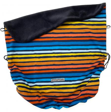 Összehúzható Pinkie Stripes takaró