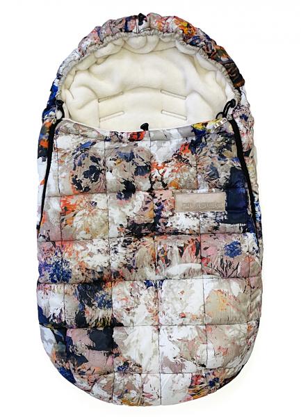 Téli Bugee Flower bundazsák 0-12 hónap