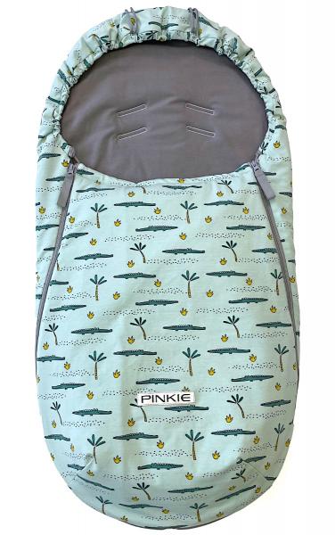 Vékonyabb Pinkie Crocodile BIO bundazsák