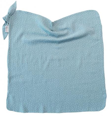 Nyári Pinkie Muslin Ocean Blue takaró