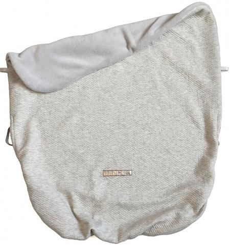 Összehúzható Grey Quilt takaró