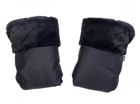 Fur Black kesztyű babakocsira