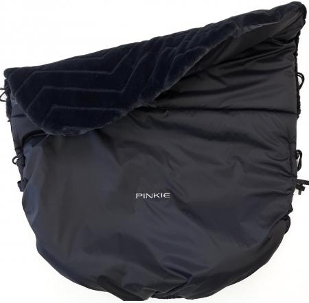 Szigetelt Pinkie Fur Black összehúzható takaró