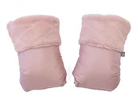 Fur Pink kesztyű babakocsira
