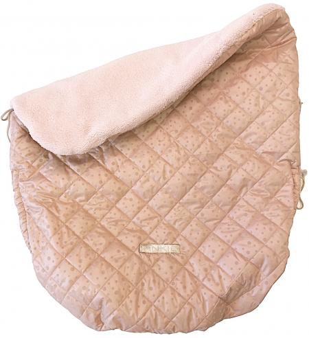 Szigetelt Soft Pink Dots összehúzható takaró