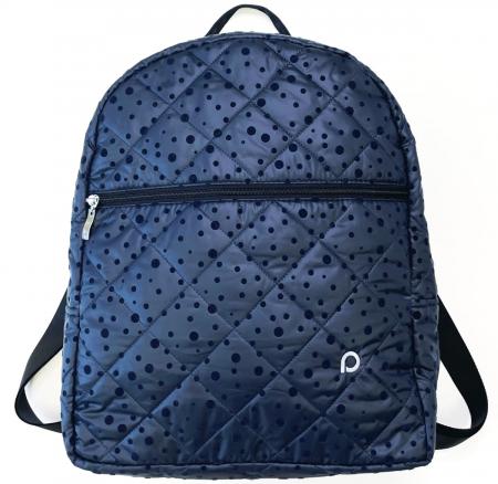 Bugee Dark Blue Dots hátizsák