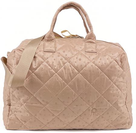 Soft Pink Dots  XL  táska babakocsira