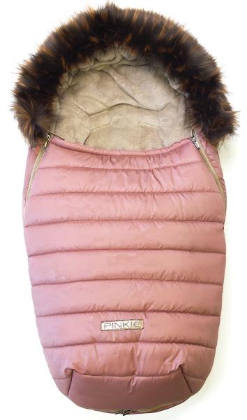 Pinkie Pink Camo szőrmés bundazsák