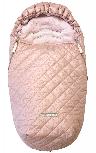 Pinkie Soft Pink Dots bundazsák