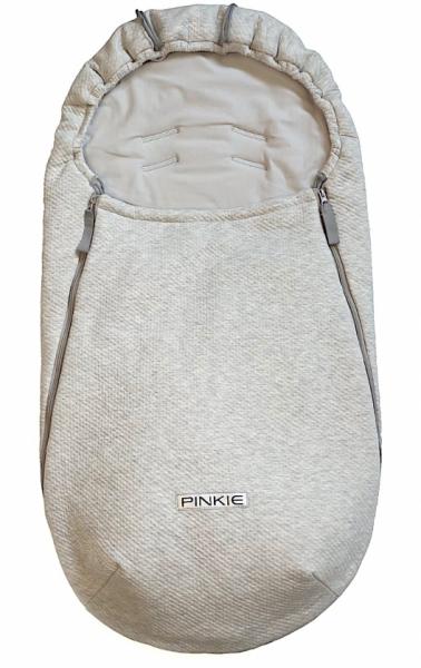 Vékonyabb Pinkie Grey Quilt bundazsák