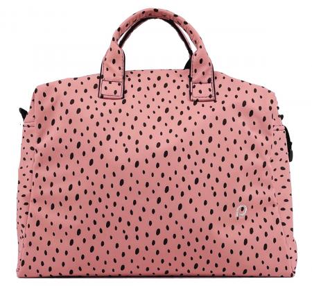 Softshell Dots Pink M táska babakocsira