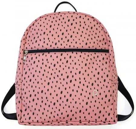 Bugee Softshell Dots Pink hátizsák