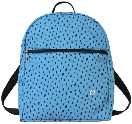 Bugee Softshell Dots Blue hátizsák