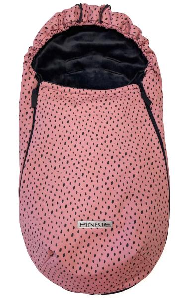 Vékonyabb Pinkie Softshell Dots Pink bundazsák