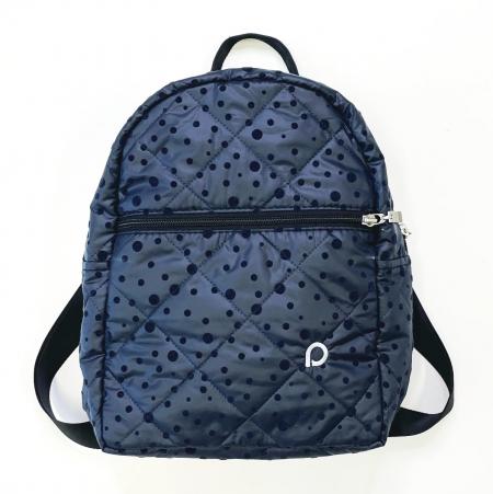Dark Blue Dots hátizsák