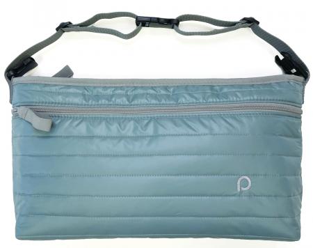 Ocean Blue rendező táska babakocsira elülső zsebbel - L