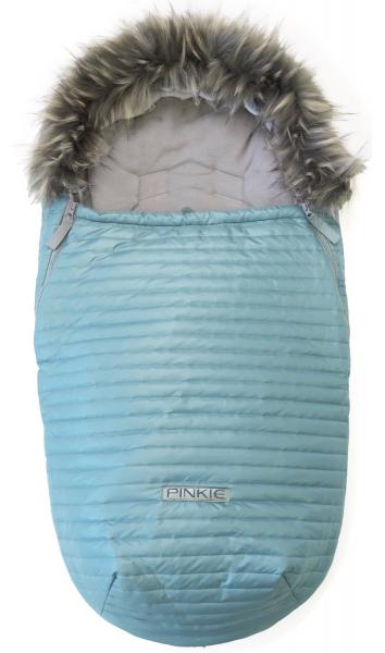 Pinkie Ocean Blue szőrmés bundazsák