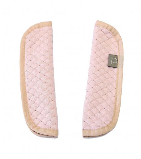 Babakocsi Diamond Light Pink II.  biztonsági öv védő