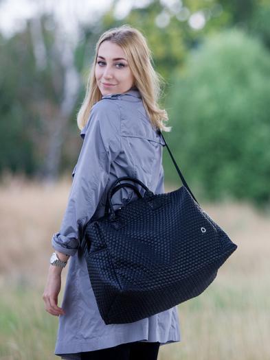 Black Comb XL táska babakocsira