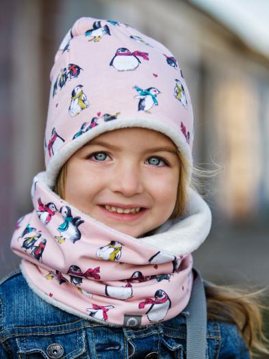 Pink Penguin sapka