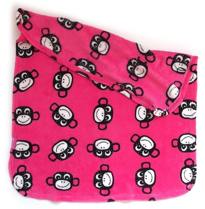 kliknutít zobrazíte maximální velikost obrázku Monkey Pink takaró
